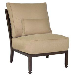 Grand Regent Armless Patio Chair with Cushion
