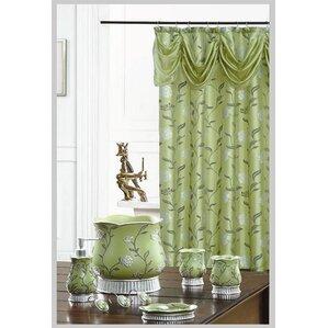 levesque decorative shower curtain green levesque decorative shower curtain