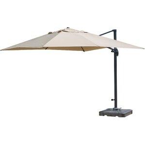 Basel 10u0027 Square Cantilever Umbrella