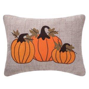 Pumpkin Bunch Lumbar Pillow