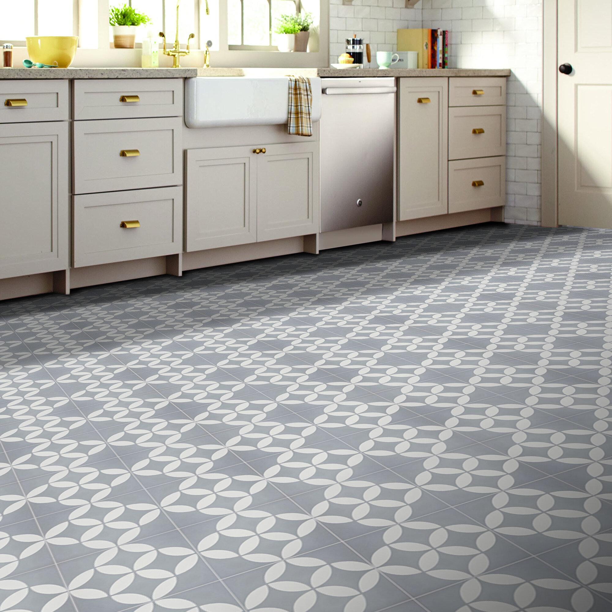 Moroccan Mosaic Tile House Amlo Handmade 8 X 8 Cement Field Tile Wayfair