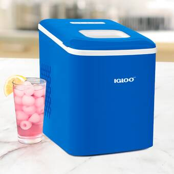 Igloo Automatic Portable Electric Countertop Ice Maker Machine 26 Pounds In 24 Hours 9 Ice Cubes Ready In 7 Minutes With Ice Scoop And Basket Perfect For Water Bottles Mixed Drinks Parties Reviews Wayfair