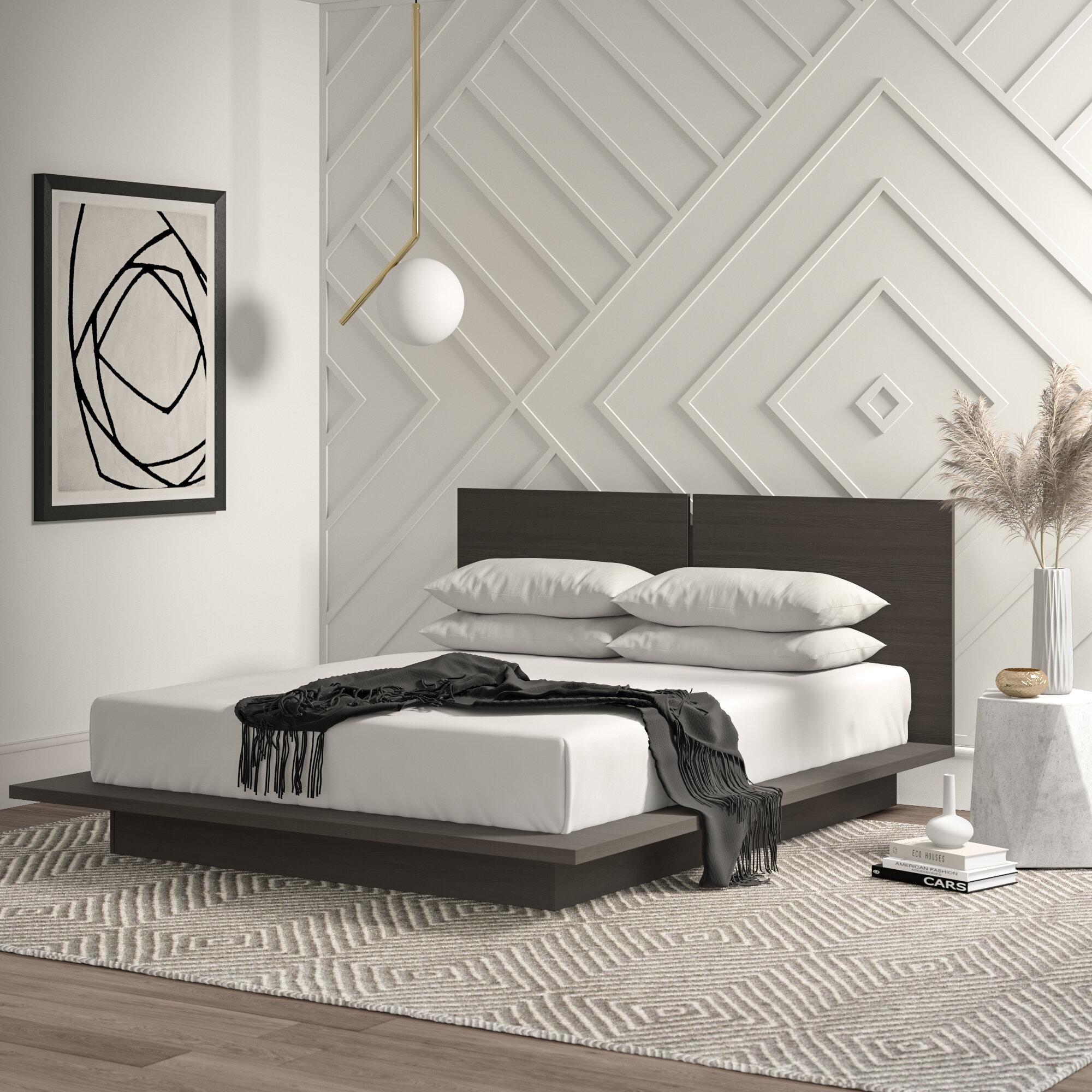 Mercury Row Mcelligott Queen Platform Bed Reviews Wayfair Ca