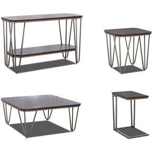 Hattie 4 Piece Coffee Table Set