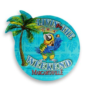 Margaritaville Melamine Salad Plate (Set of 6)