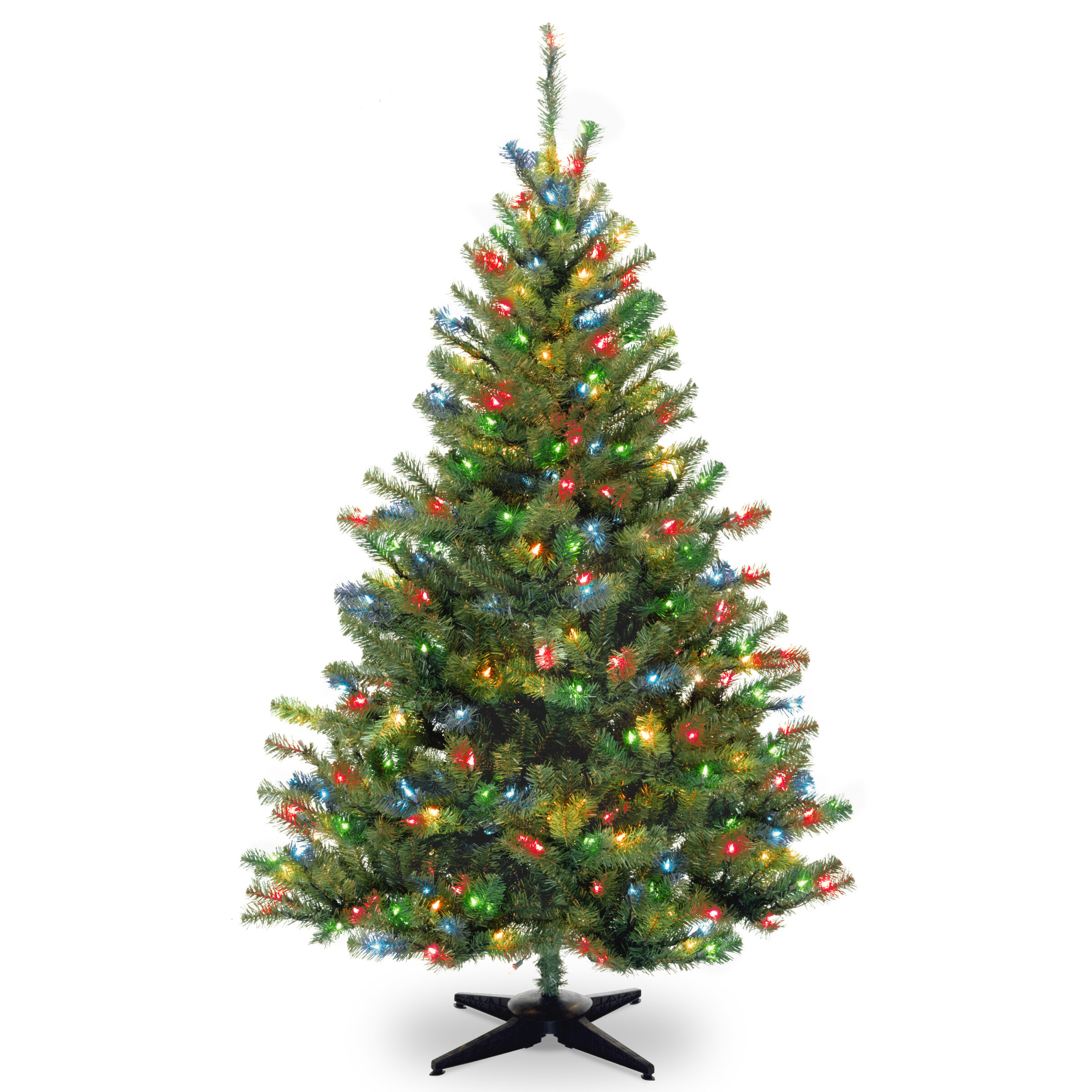 Ebern Designs 6\' Spruce Artificial Christmas Tree with 400 ...