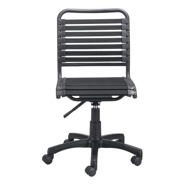 amazon bungee bradley finish dp high com office back chair black products