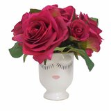 Roses Selfie Floral Arrangement in Vase by Tree Masters Inc.
