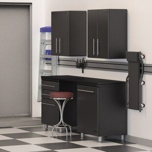 Garage 8-Piece Deluxe Storage System with Workstation by Ulti-MATE