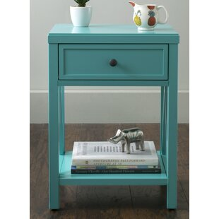 Compare prices Laurel End Table with Storage By Red Barrel Studio