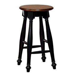 Pitcock Wooden Bar Stool (Set of 2) Charlton Home