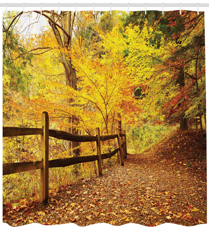 Loon Peak Berinda Landscape Autumn Season Fall Trees Leaves On