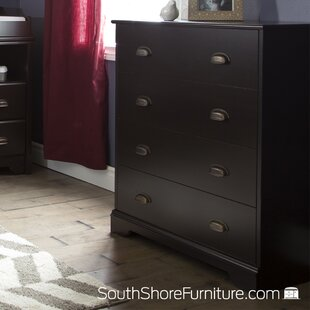Fundy Tide 4-Drawer Chest BySouth Shore