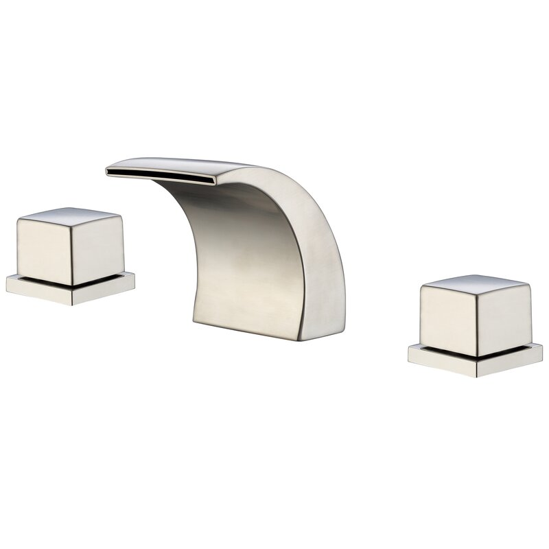 Sumerain Wide-Spread Waterfall LED-Thermal Sink Faucet & Reviews ...
