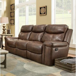 Heineman Leather Reclining Sofa