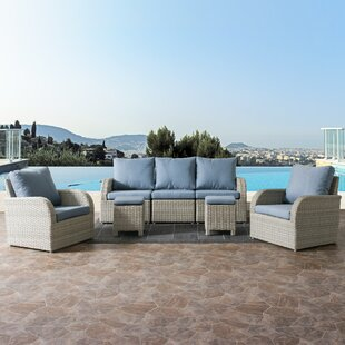 Killingworth 7 Piece Sectional Set with Cushions By Rosecliff Heights