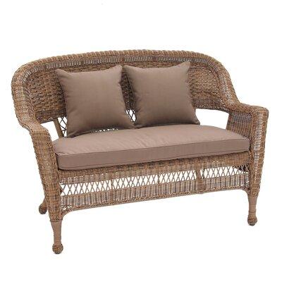 Surprising Birch Lane Heritage Alburg Loveseat With Cushions Fabric Inzonedesignstudio Interior Chair Design Inzonedesignstudiocom