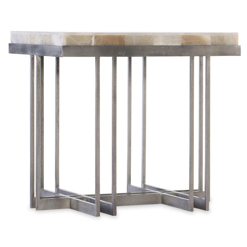 Hooker Furniture Melange End Table Perigold