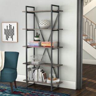 Inexpensive Keeble Metal Etagere Bookcase ByMercury Row