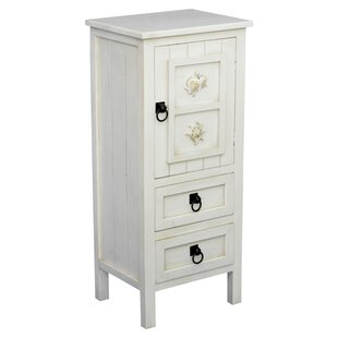 Greendale 1 Door 2 Drawer Coastal Accent Cabinet