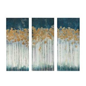 3 Piece Painting Print On Canvas Set
