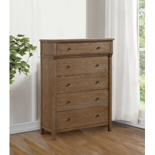 Leatrice 5 Drawer Chest by Three Posts