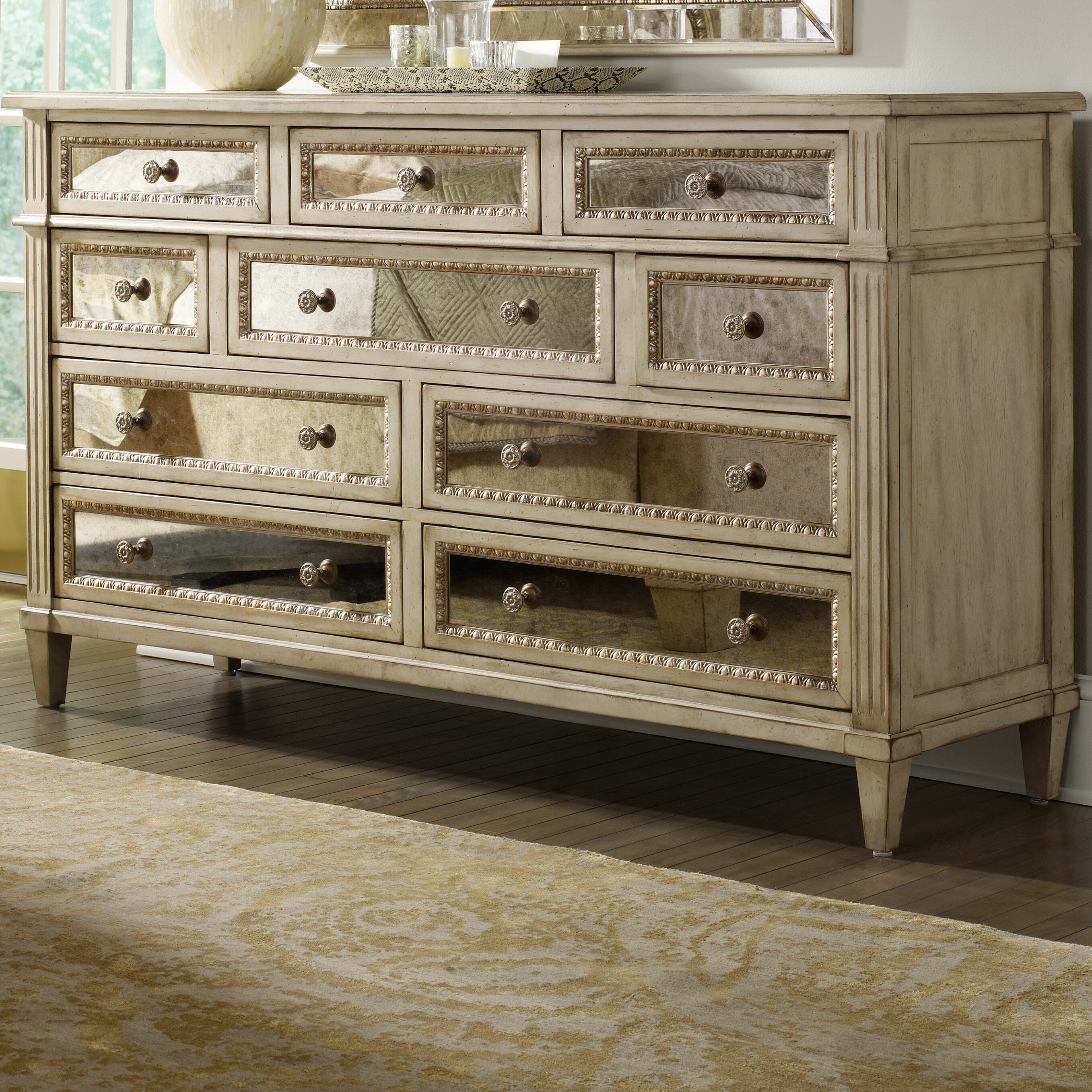 Hooker furniture sanctuary 10 drawer dresser reviews wayfair