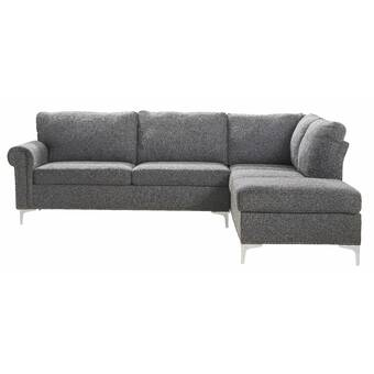 Rosdorf Park Haywa Left Hand Facing Sectional Wayfair
