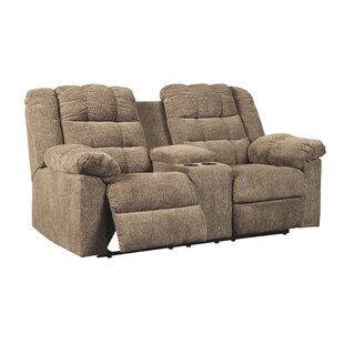 Raine Reclining Loveseat Red Barrel Studio