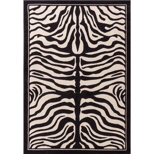 Marlow Black/White Indoor/Outdoor Area Rug