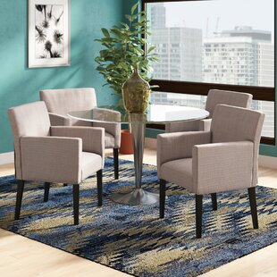 Check Prices Mowery Heights Arm Chair (Set of 4) by Latitude Run Reviews (2019) & Buyer's Guide