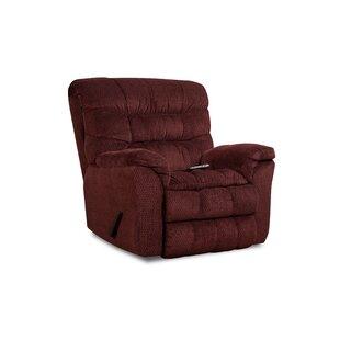 Eiland Simmons Upholstery Heat and Massage Rocker Recliner