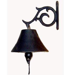Cast Iron Elegant Hanging Bell