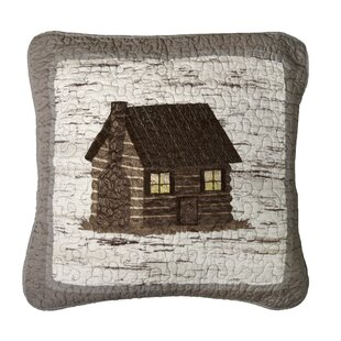 Essexville Cabin Cotton Throw Pillow