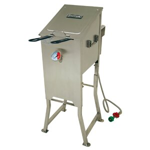 4 Gallon Bayou Fryer with 2 Stainless Baskets