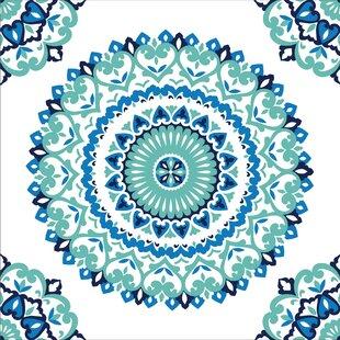 Jasmine Medallion 5.5m L x 52cm W Geometric Roll Wallpaper by NuWallpaper
