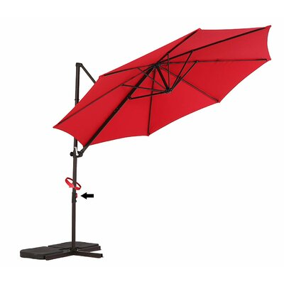Treyvon 10 Cantilever Umbrella by Darby Home Co Great price