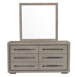 Laura 6 Drawer Double Dresser