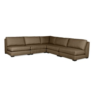 Glaude Plush Deep Modular Sectional