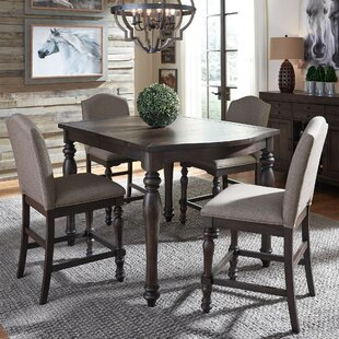 Sansome 5 Piece Extendable Dining Set