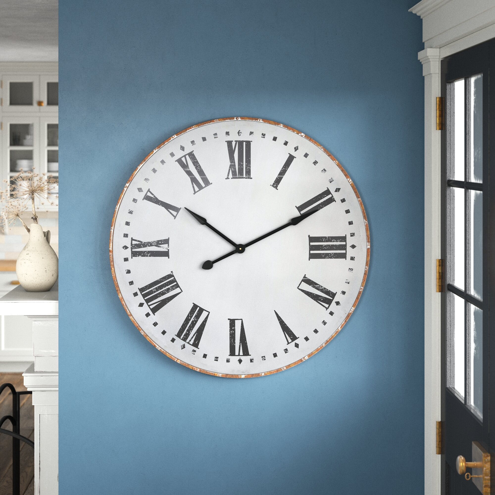 Brown Wall Clocks Free Shipping Over 35 Wayfair