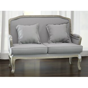 Milieu Classic French Loveseat by Lark Manor Best Design