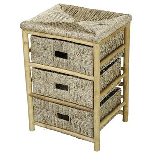 Albright 3 Drawer Nightstand