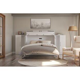 Pirtleville Storage Murphy Bed with Mattress