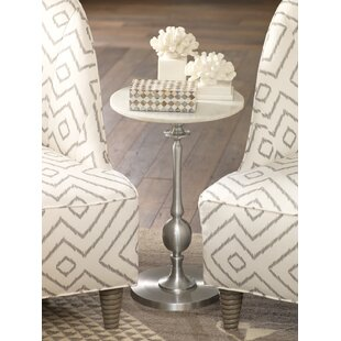 Gena Aluminum End Table
