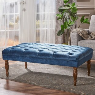 Savings Bridge Cocktail Ottoman By Charlton Home