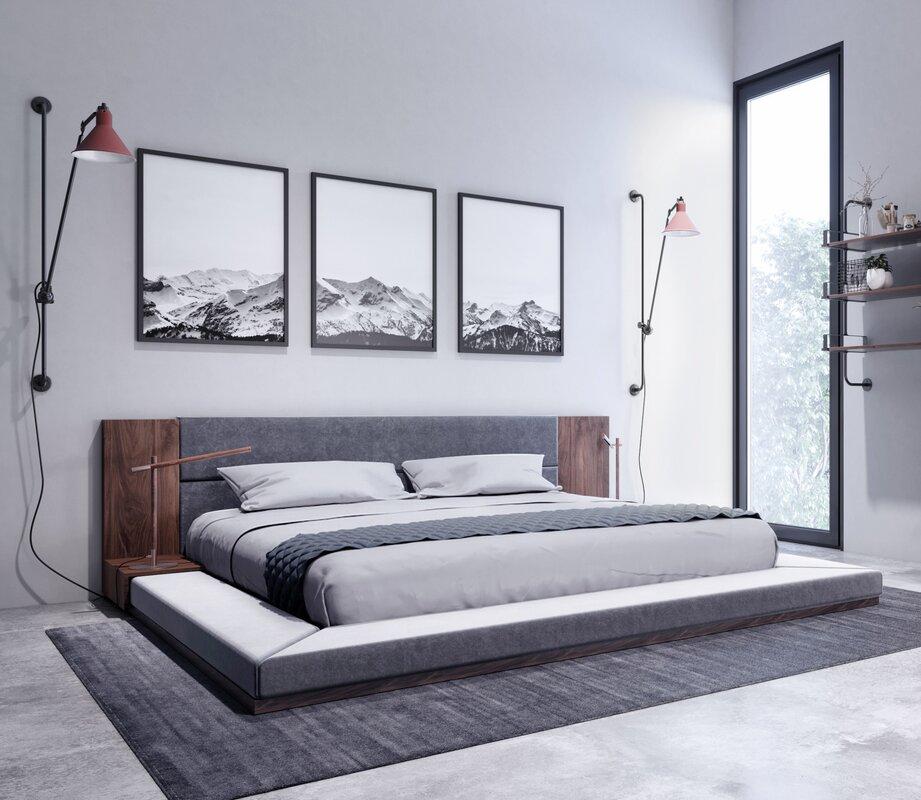 Vig Jagger Modern Bed King  Item# 10304