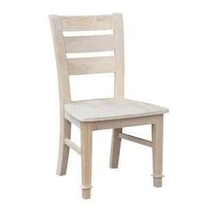 Atlantic Solid Wood Dining Chair (Set Of 2) by International Concepts 2019 Sale