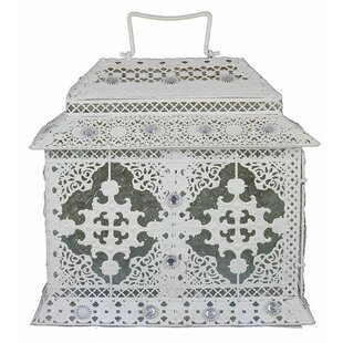 Metal Lantern By Bloomsbury Market Outdoor Lighting