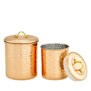 2 Piece Kitchen Cannister Set